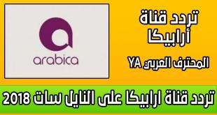 صورة تردد قناة ارابيكا, اقوي قناة اغاني حصرية