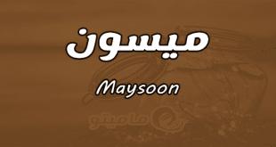صورة اسم ميسون بالانجليزي, اسماء روعة لبنات من اصل فارسي