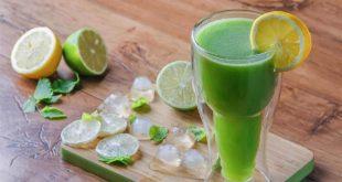 صورة فوائد عصير ليمون بالنعناع, تحضير اشهي العصائر في دقيقتين