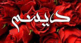 صورة معنى اسم ديسم, اسماء عربيه مكروهه في الاسلام
