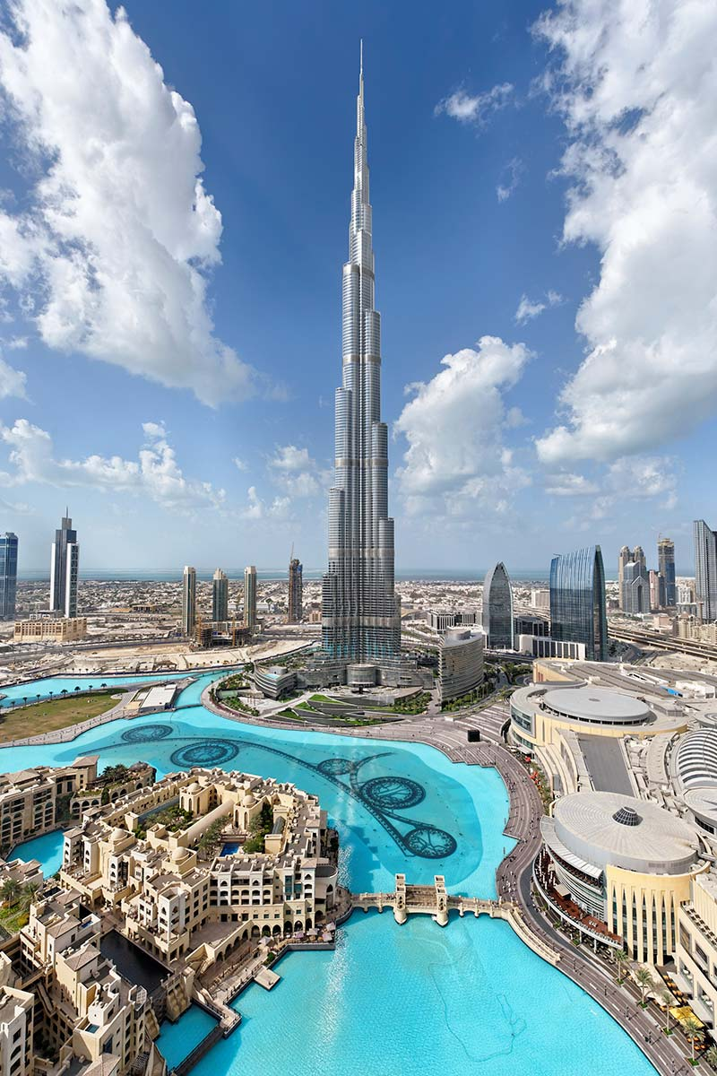 صورة اي شكل أعجبك اكثر , اطول ابراج العالم