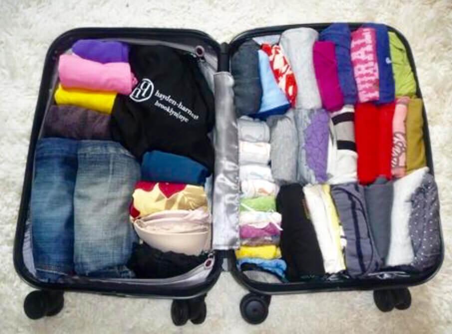 صورة عشان تكوني دايما جاهزة , تجهيز حقيبة السفر